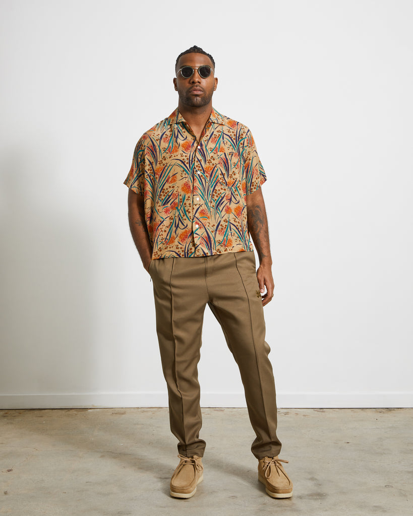 Housatonic Short Sleeve Louie Shirt in Tan