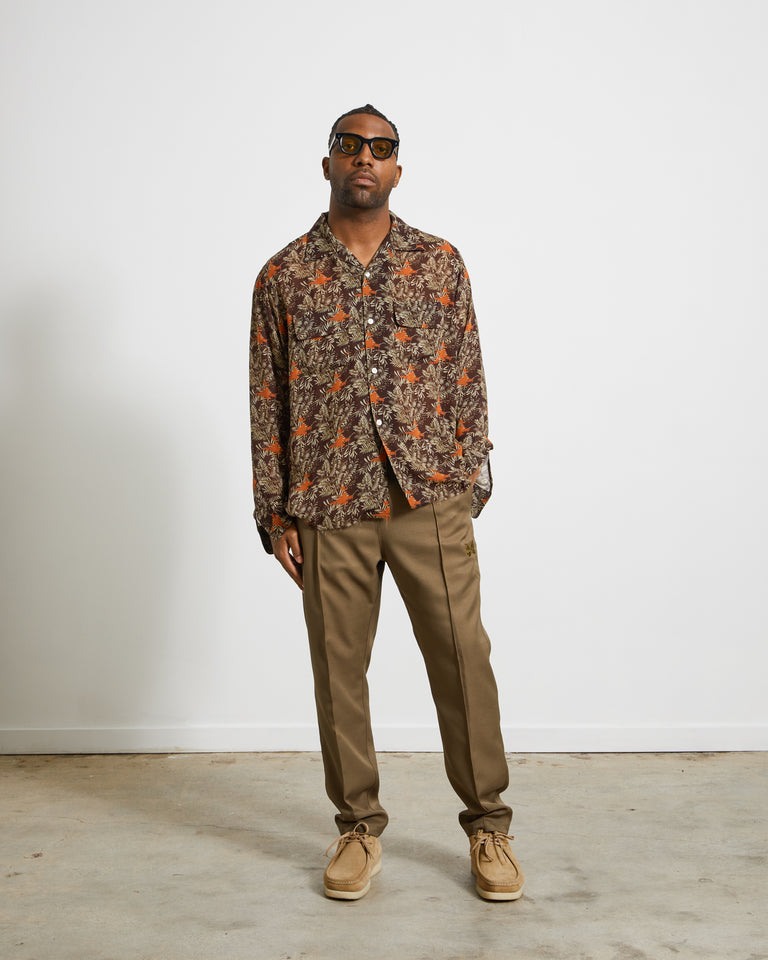 C.O.B. Classic Shirt in Flower & Leaf
