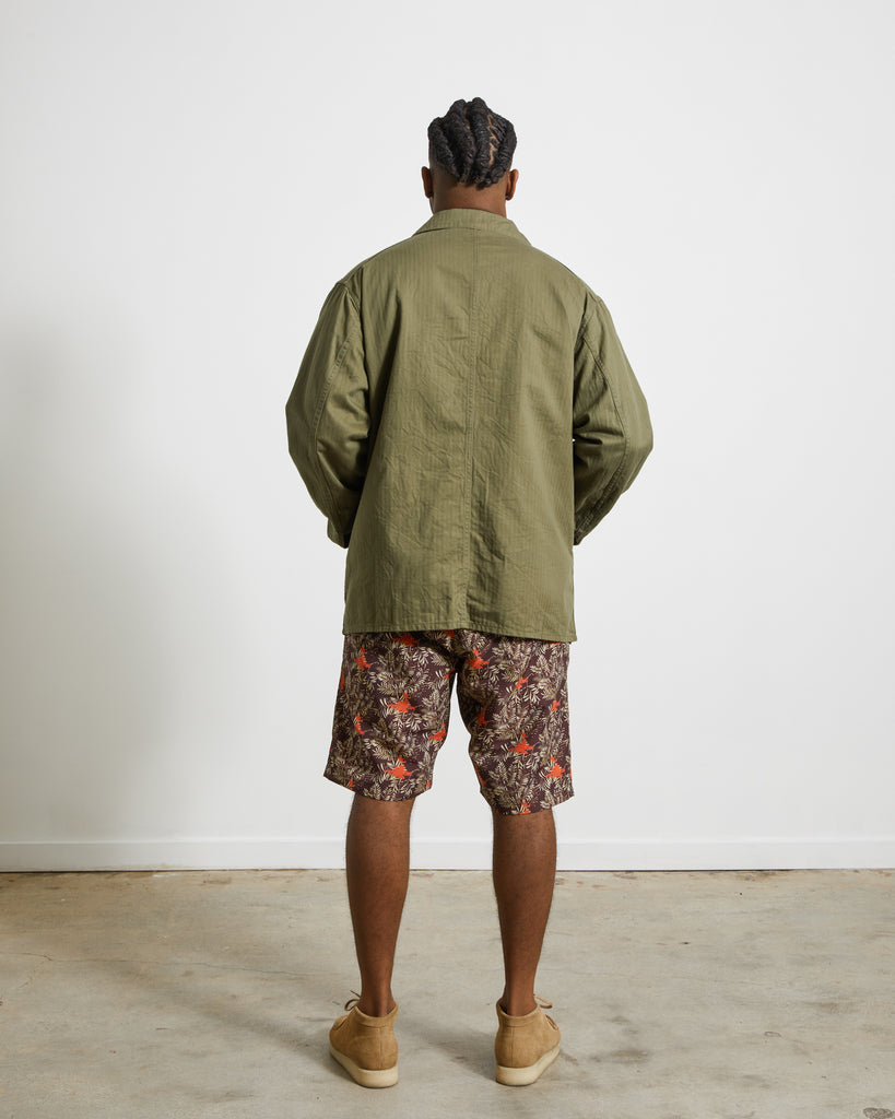 D.N. Coverall in Olive