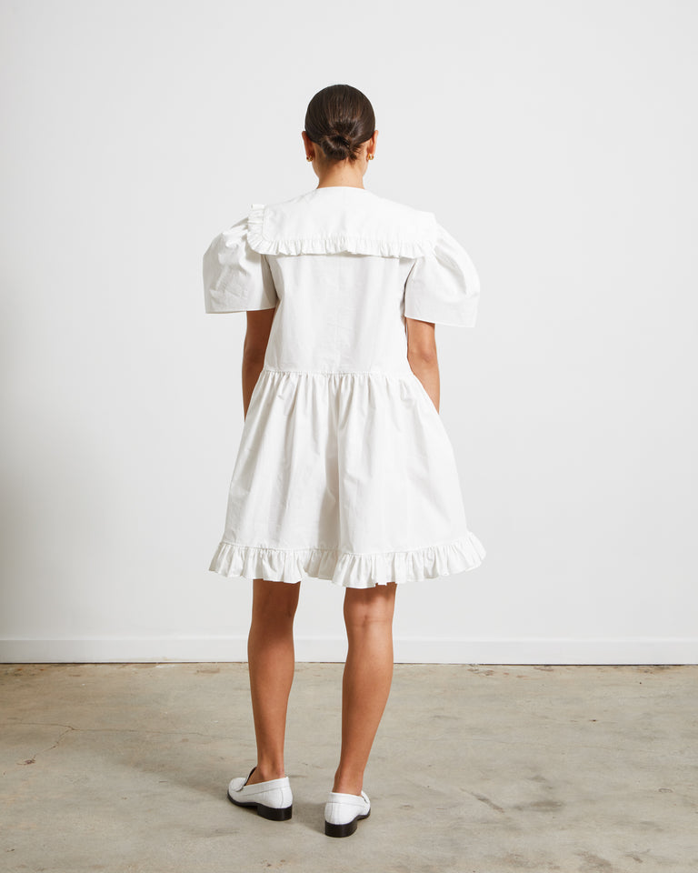 Oriel Dress in White