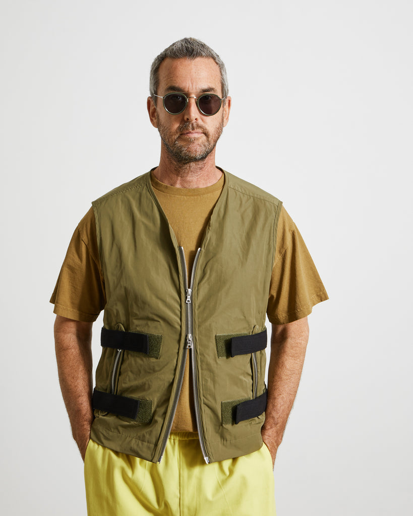 Gower 2312 M.W. Vest in Khaki