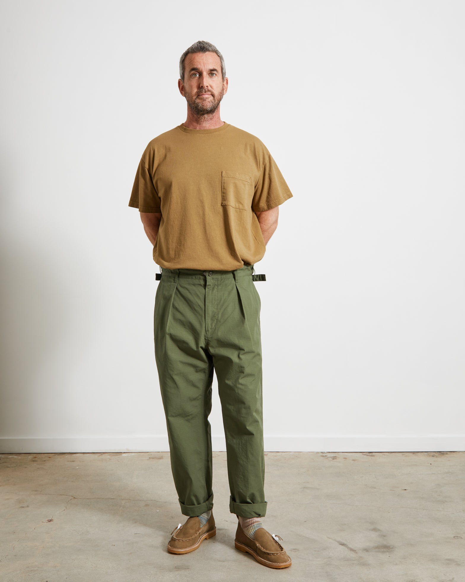 Ground Pant in Olive