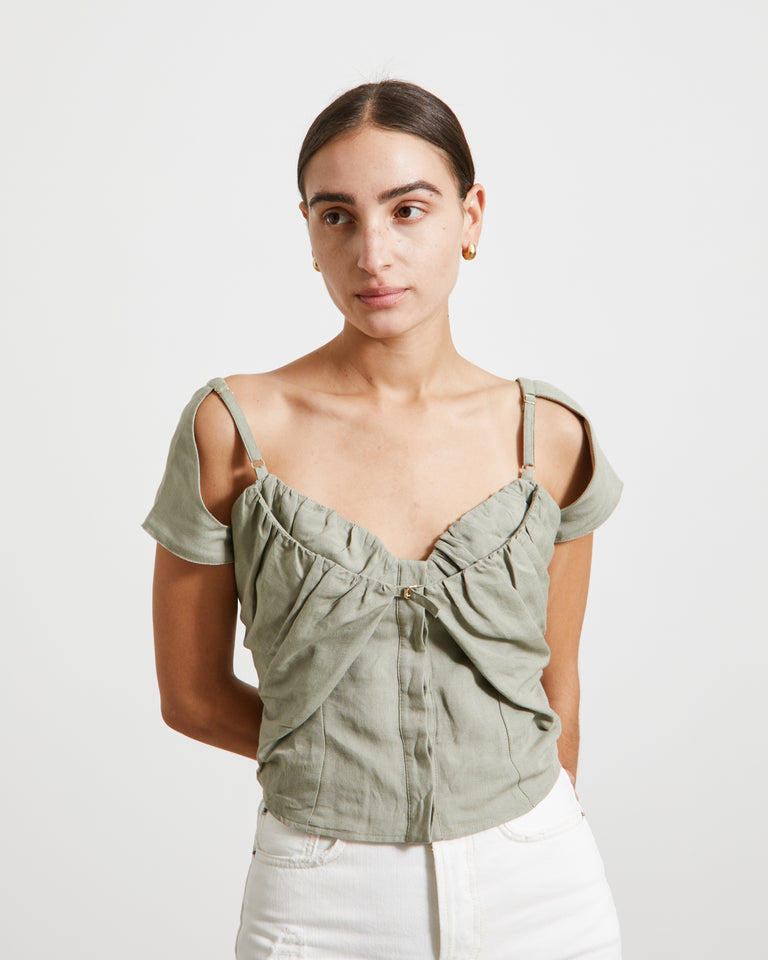 Le Haut Tovallo in Sage Green