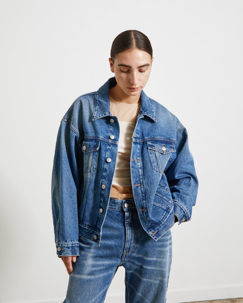 S52AM0162 Jacket in Vintage Wash