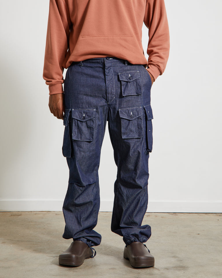Denim FA Pant in Indigo