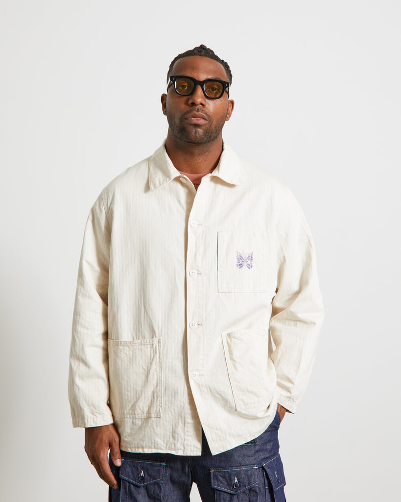 D.N. Coverall in Off White