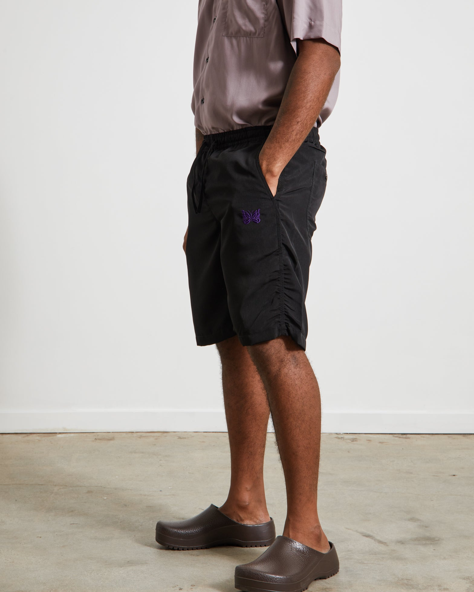 Basketball Short in Black