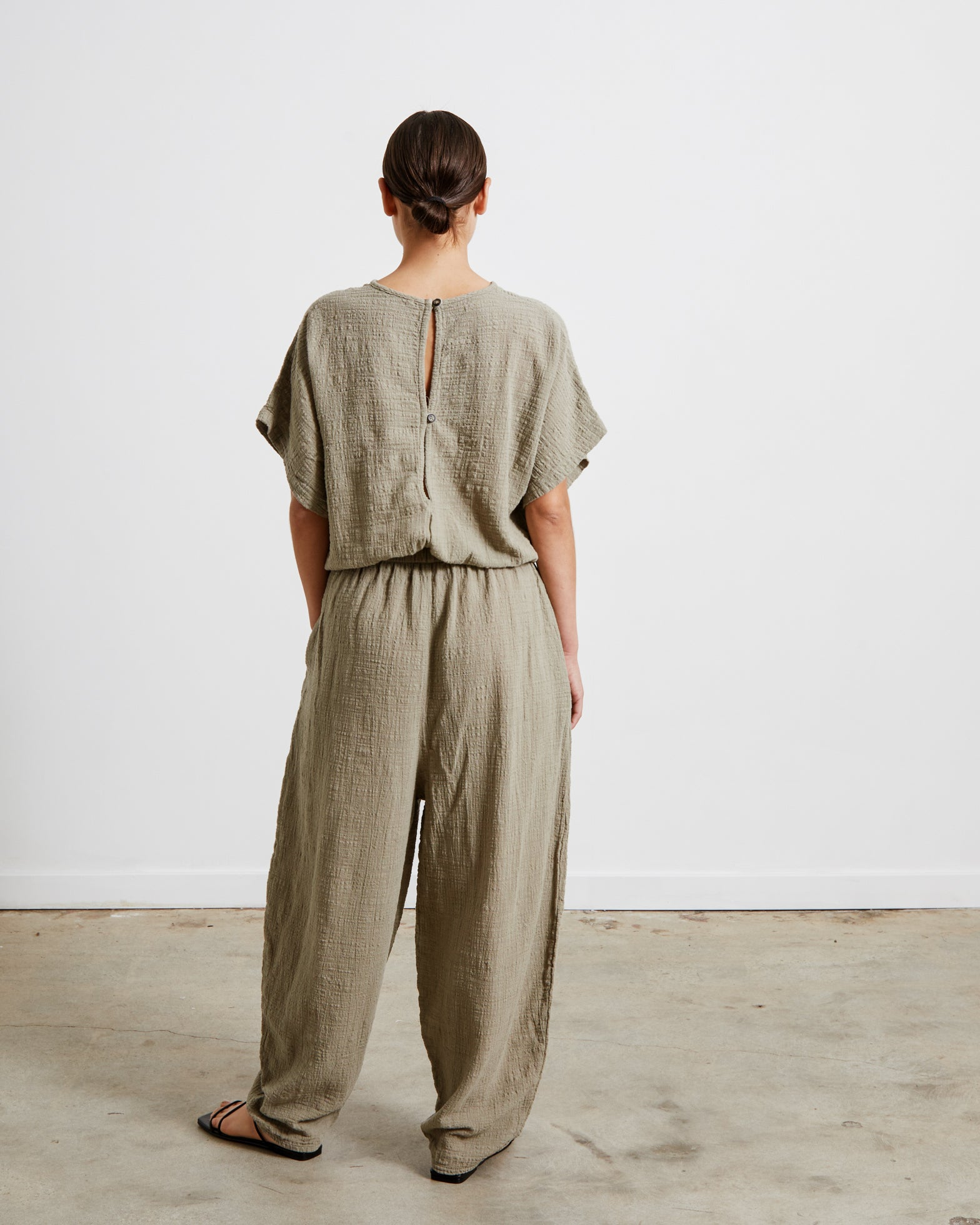 Easy Jumpsuit in Stone