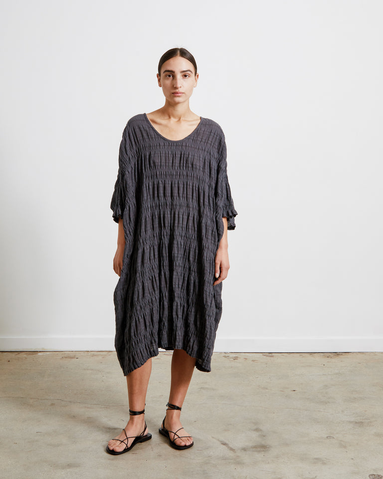 Rec Dress in Faded Black