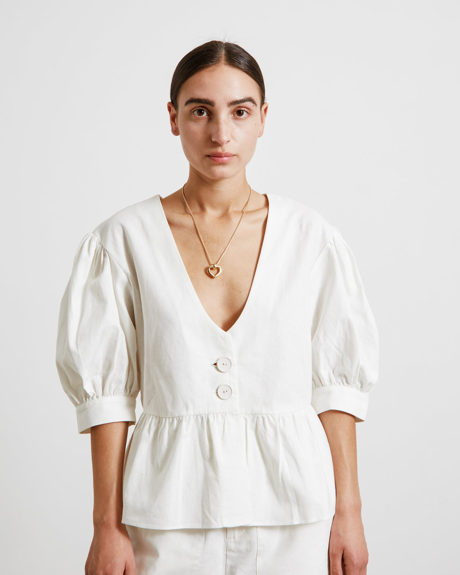 Martine Top in Ivory