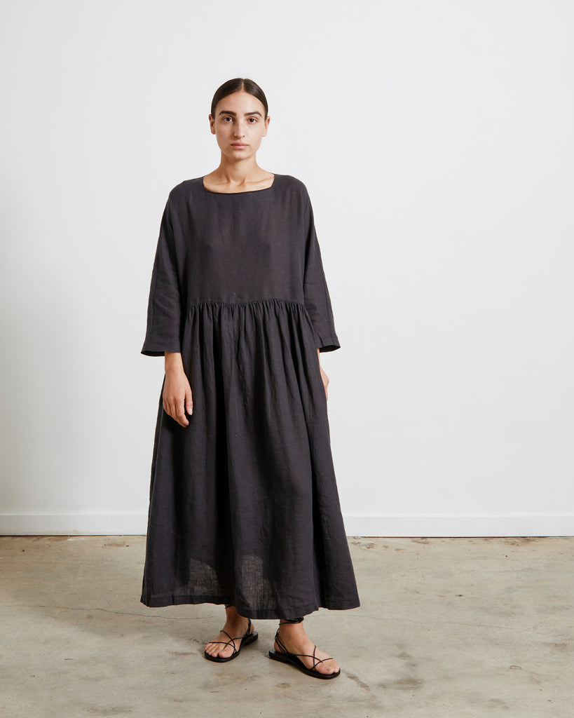Mohawk General Store | Black Crane | Tradi Dress in Faded Black