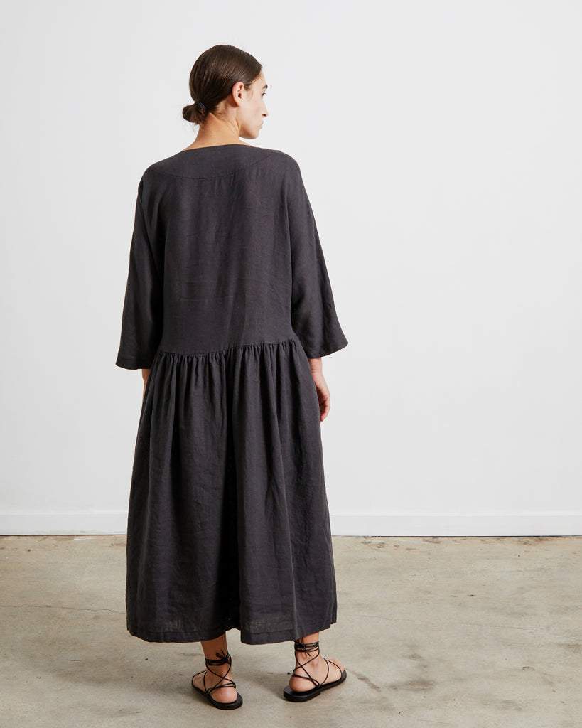 Tradi Dress in Faded Black