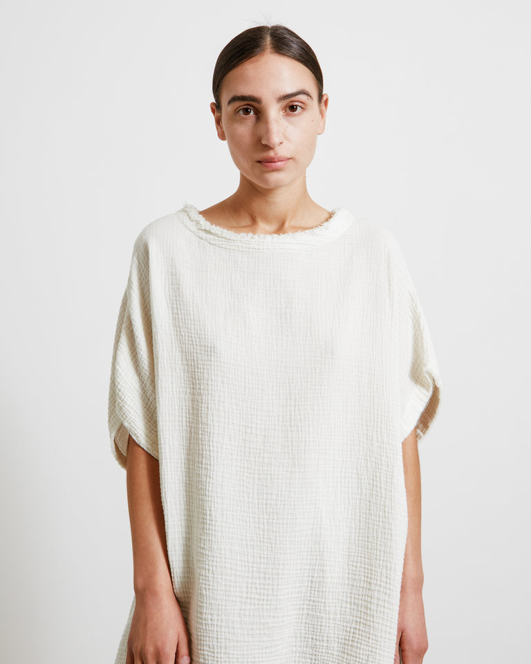 Gauze Top in Cloud