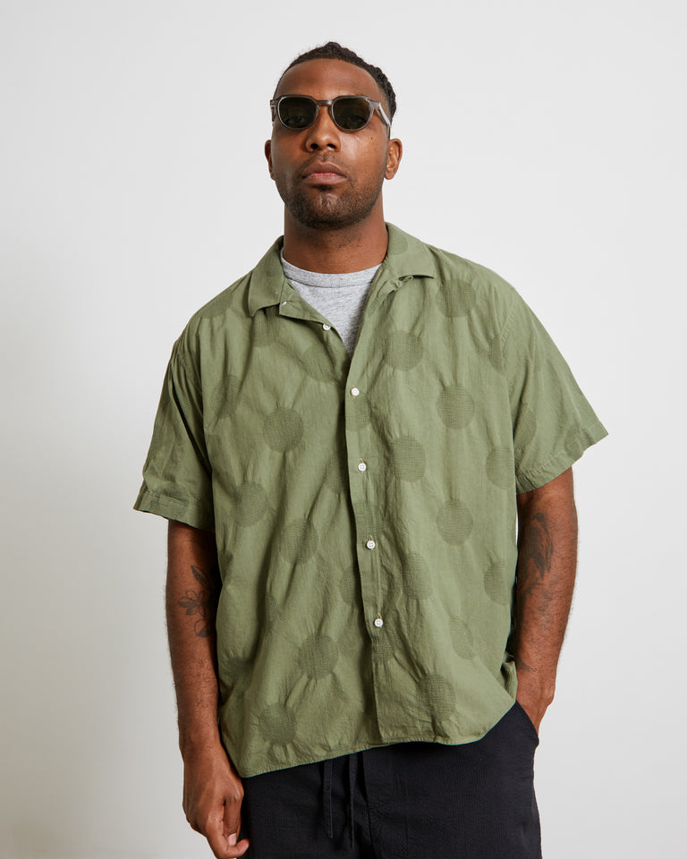 Vintage Camp Shirt in Olive