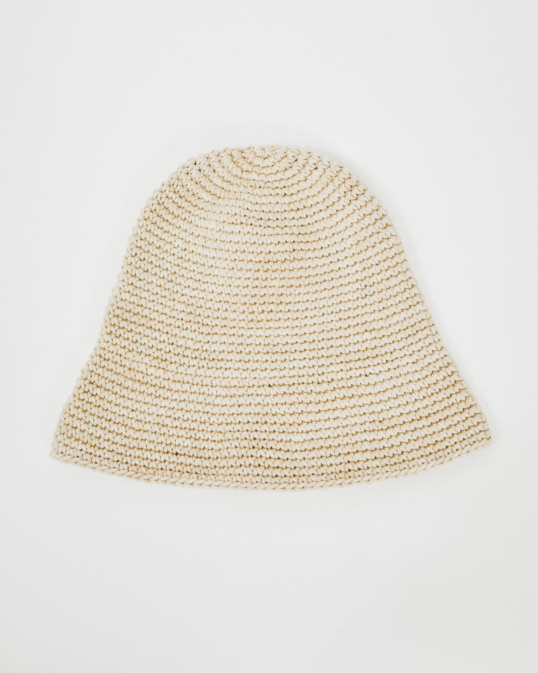 New Bell Hat in Straw Space