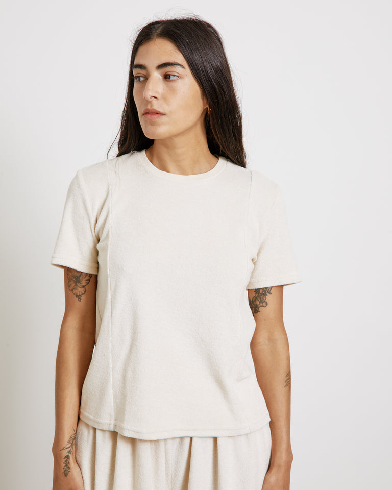 Classic Baby Tee in Sweet Meringue