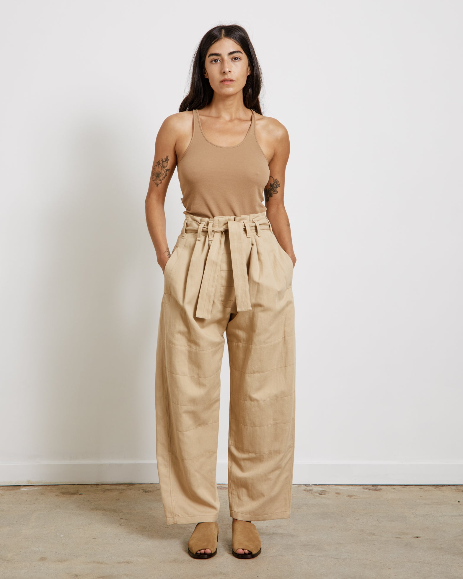 Judo Pants in Blond Beige