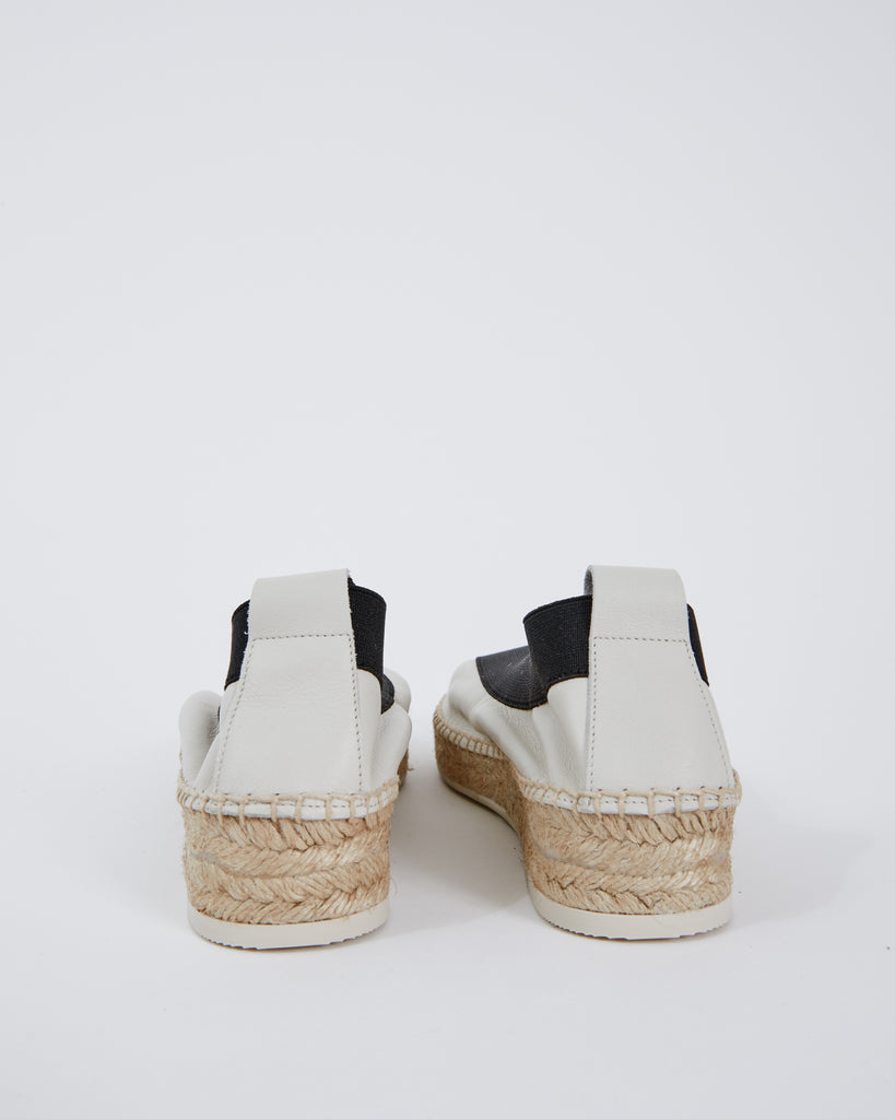 Horta Espadrille in Off White