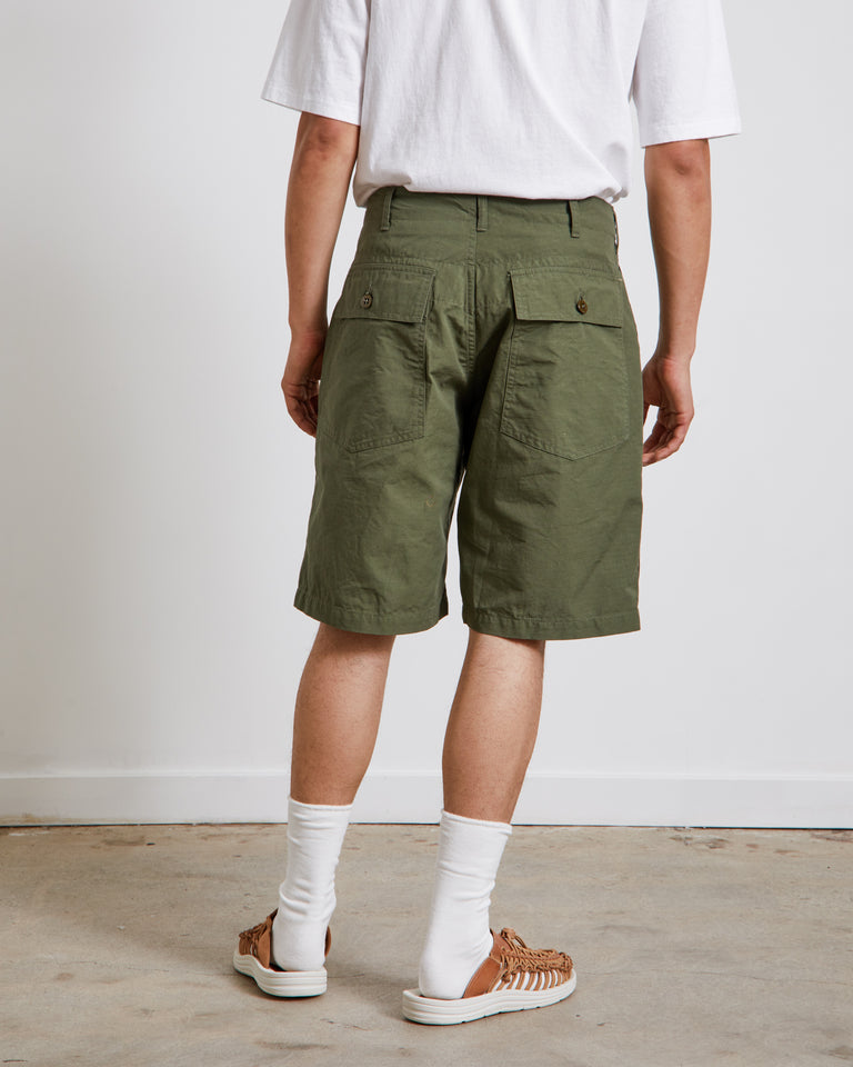 Fatigue Shorts in Olive
