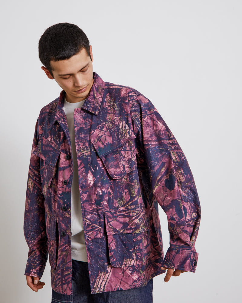 Jungle Fatigue Jacket in Pink
