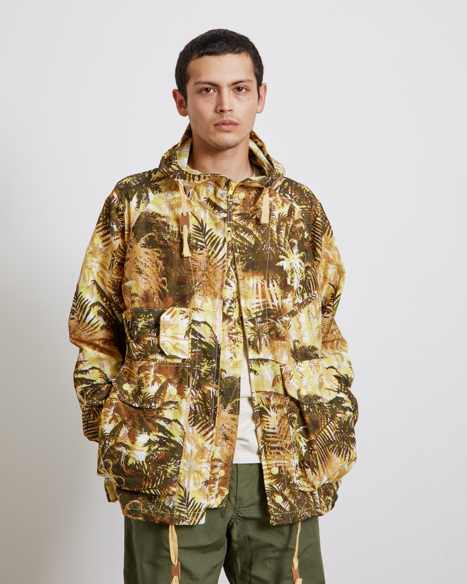 Atlantic Parka in Yellow