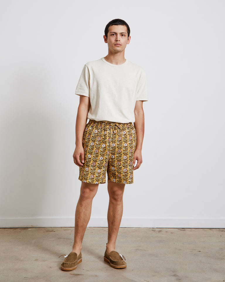 Alghero Beach Shorts in Yellow
