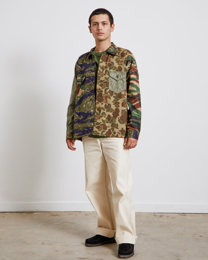 Smokey Shirt in Crazy Camo