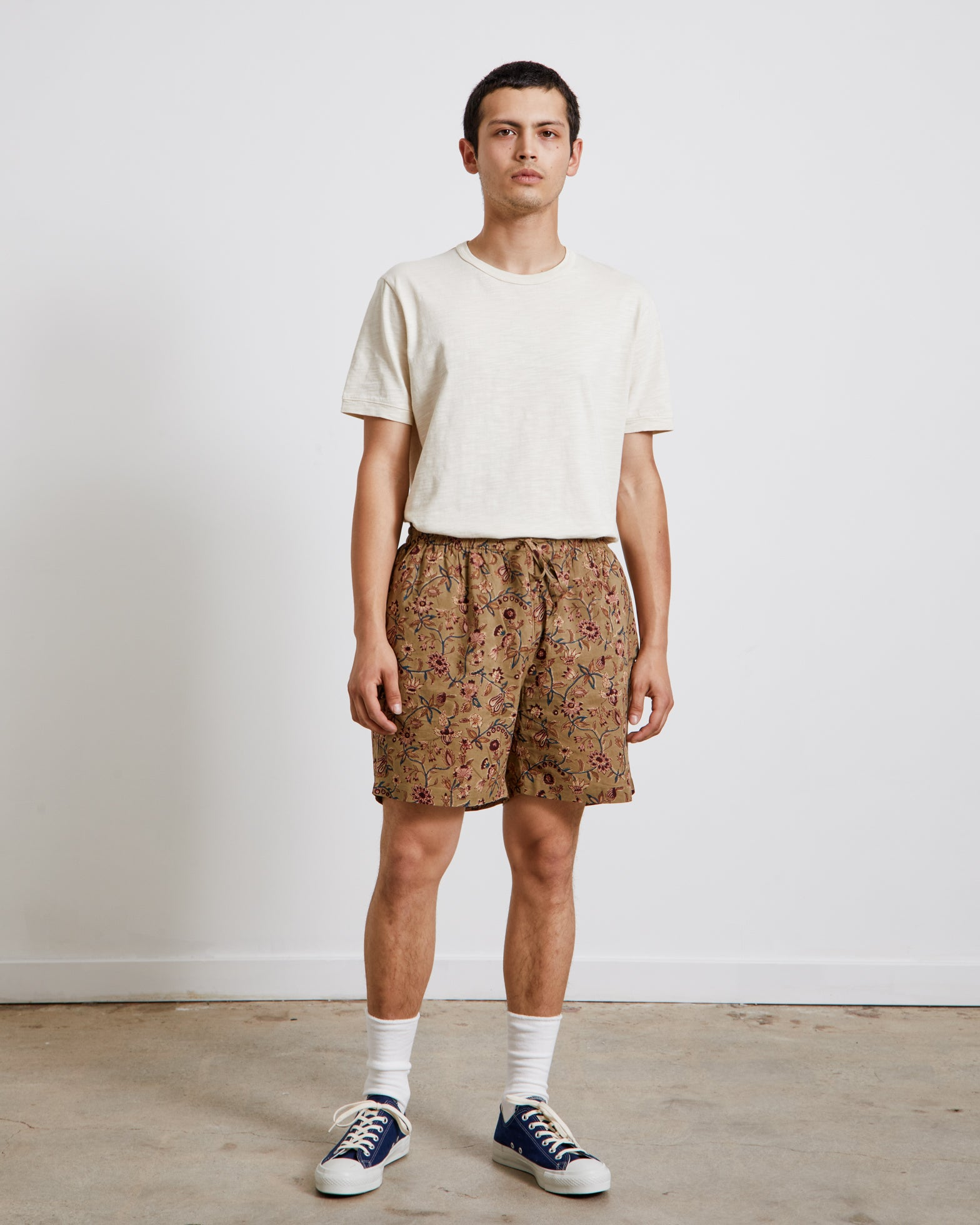 Alghero Beach Shorts in Tan