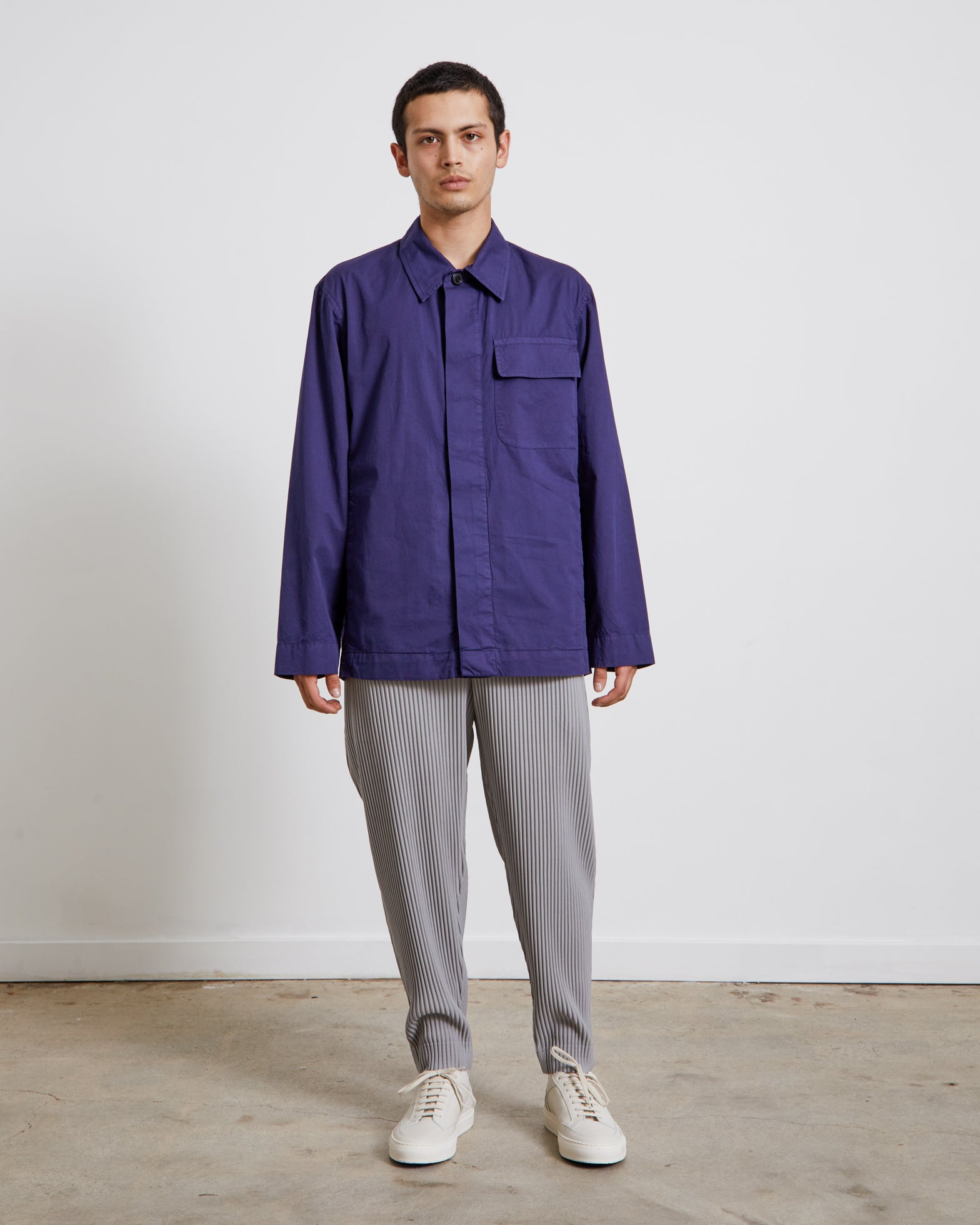 Cadin 2021 M.W. Shirt in Indigo