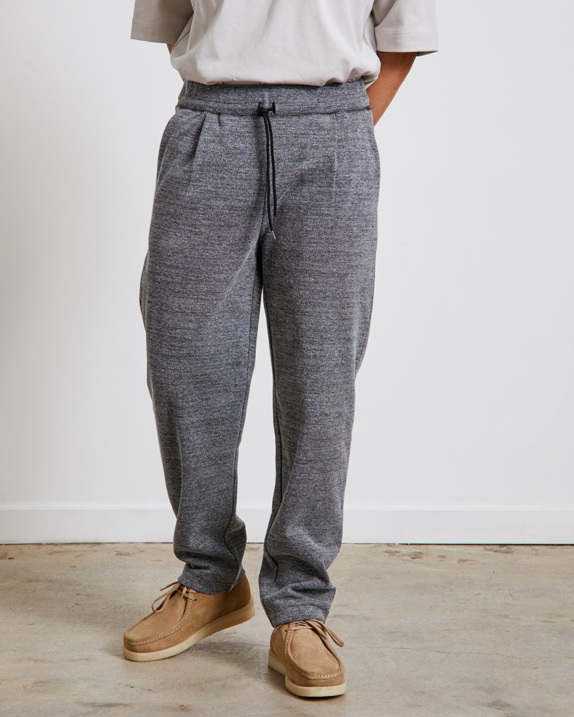 Relaxed Jersey Pants in Grey