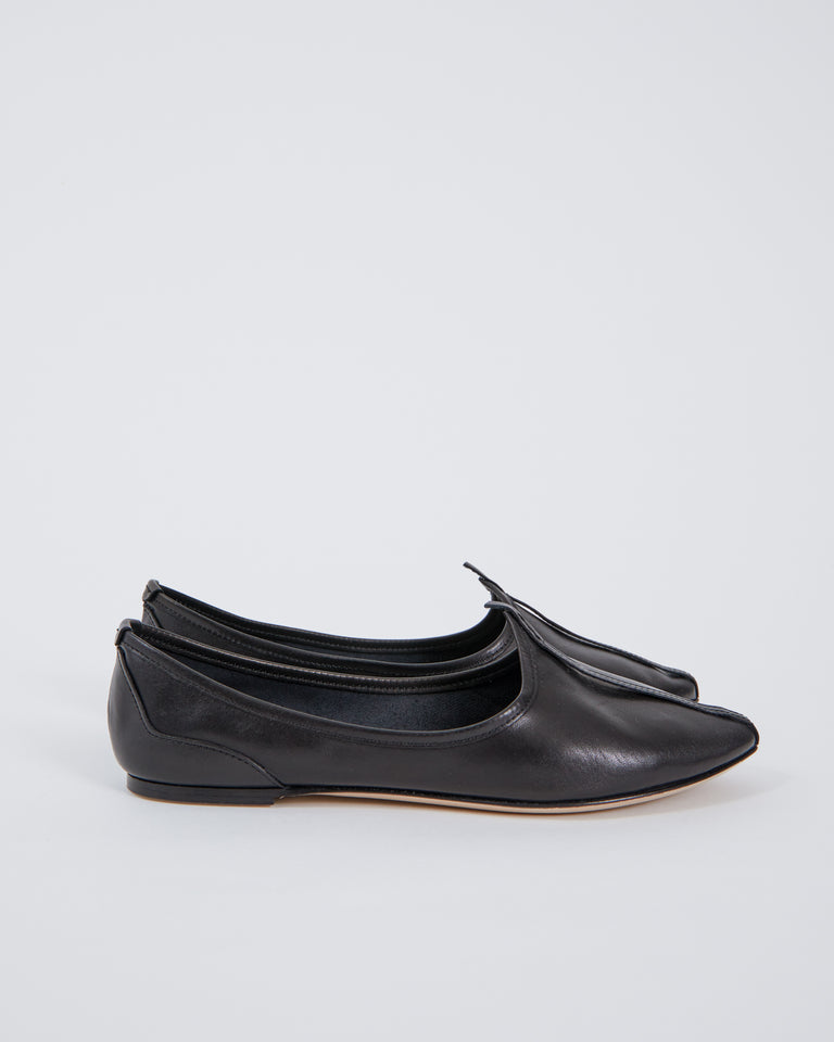 Atha Slipper in Black