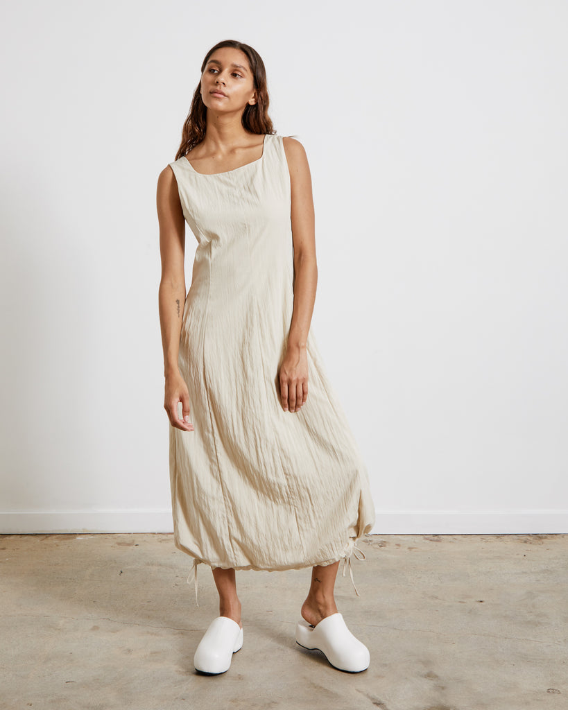 Mohawk General Store | Amomento | Volume Dress in Beige