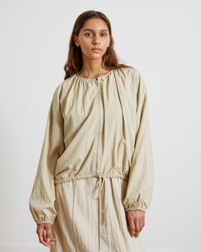 Mohawk General Store | Amomento |Double Zip-Up Blouse in Olive