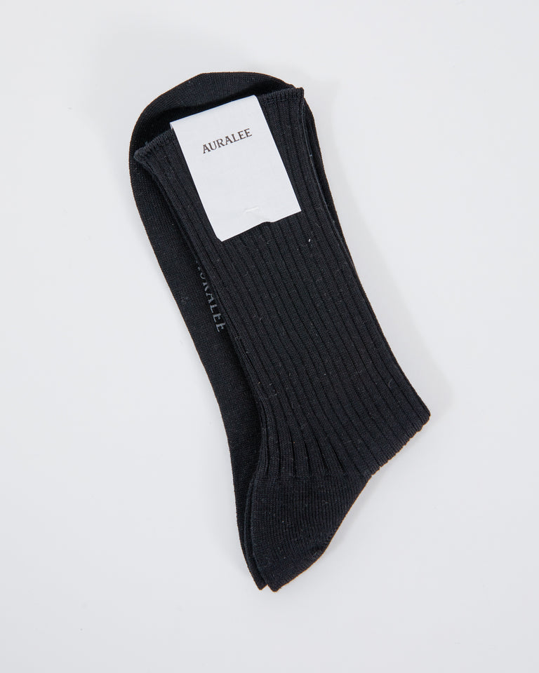 Giza High Gage Sox in Black