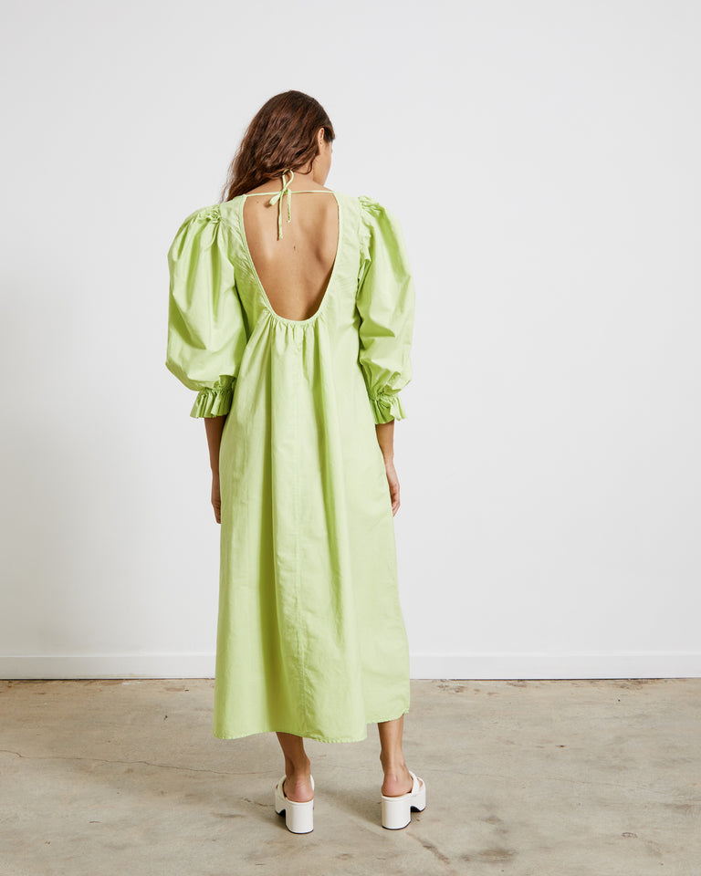 Epsilon Ursae Dress in Starfruit Lime