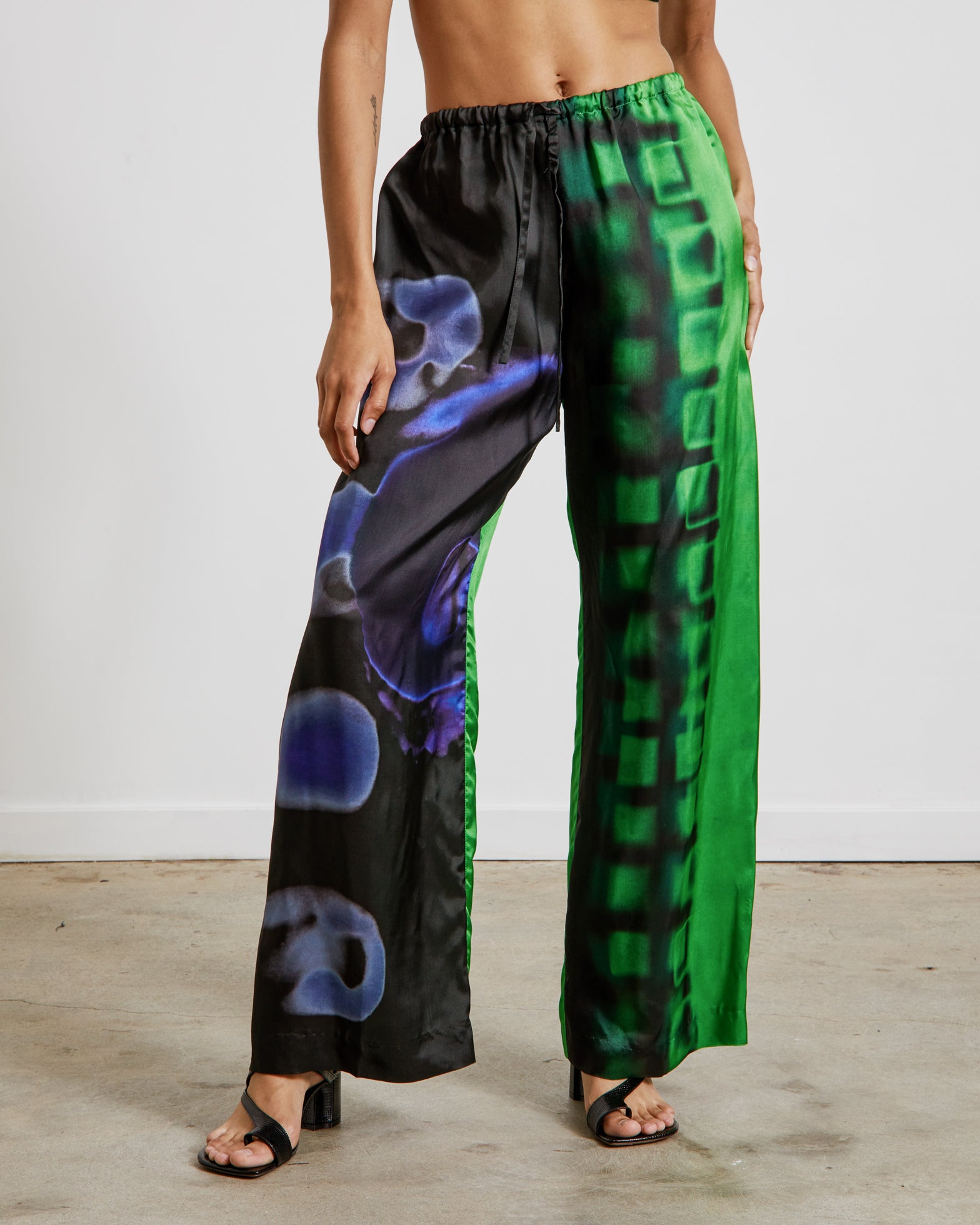 Mohawk General Store | Dries Van Noten | Puvis Bis 2068 W.W. Pants in Green