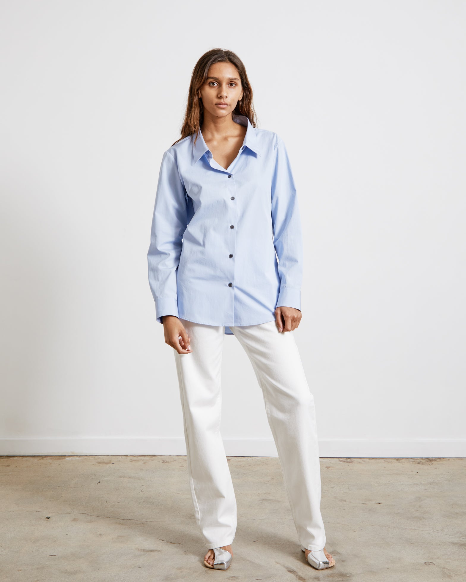 Camee 2228 W.W. Shirt in Light Blue