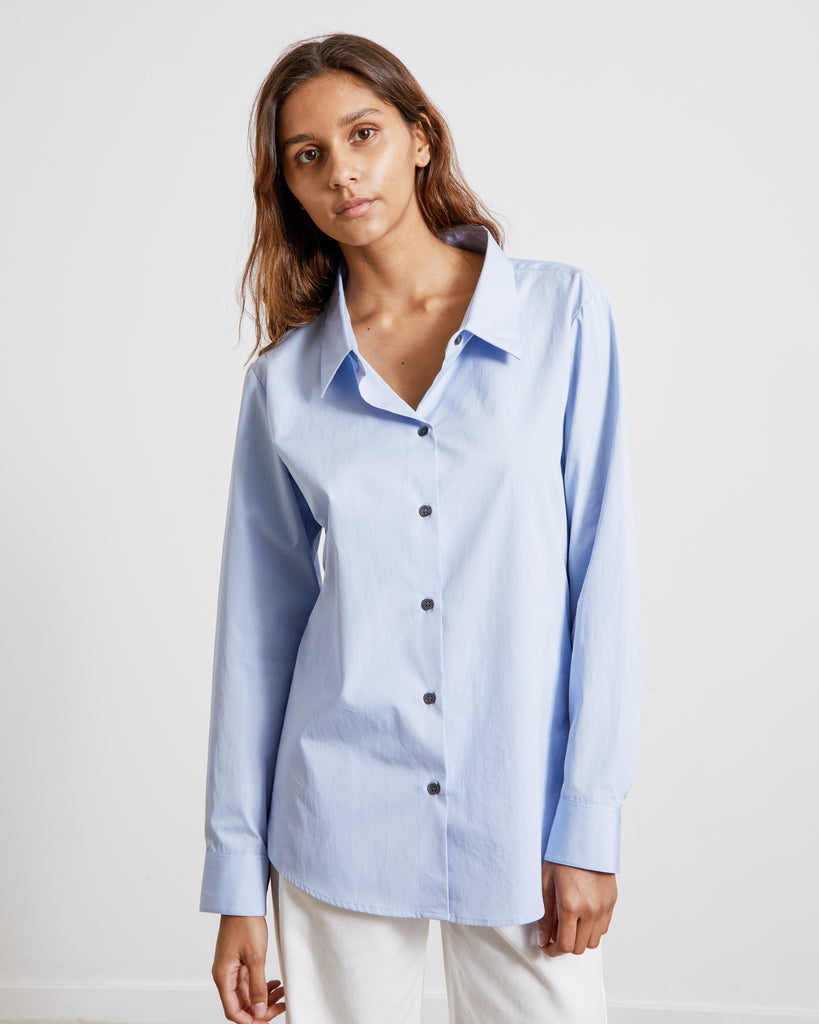 Mohawk General Store | Dries Van Noten | Camee 2228 W.W. Shirt in Light Blue