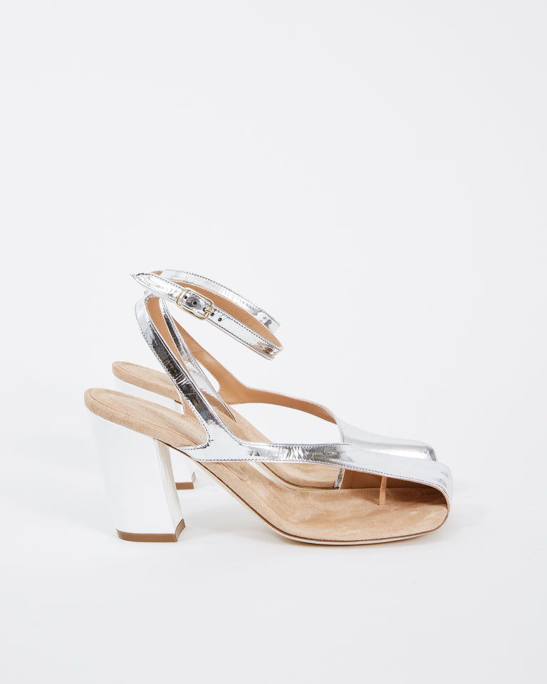 WS211/141/H80 Sandal in Silver