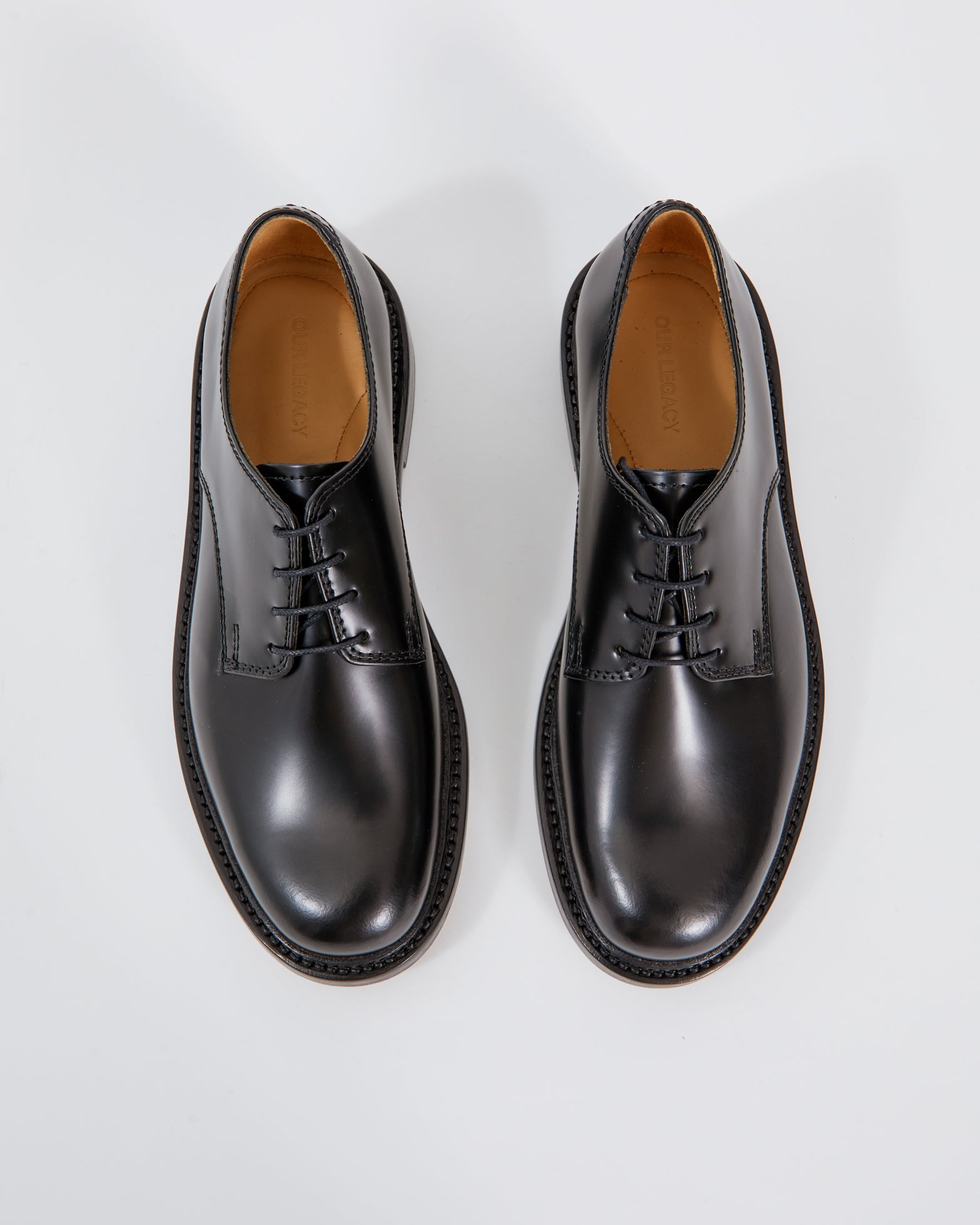 Uniform Parade Shoe in Black