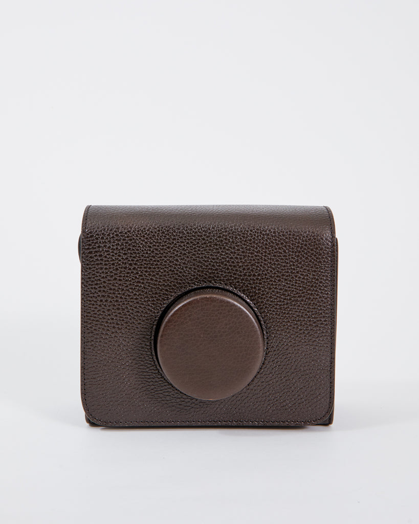 Camera Bag in Chocolate Brown