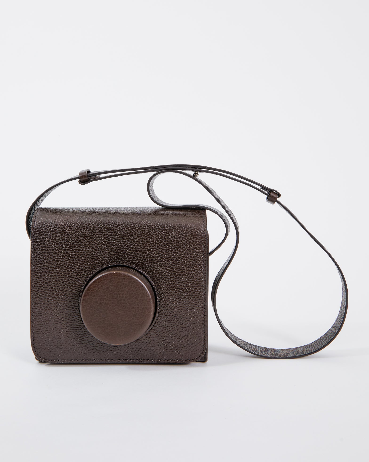 Mohawk General Store | Lemaire | Camera Bag in Chocolate Brown