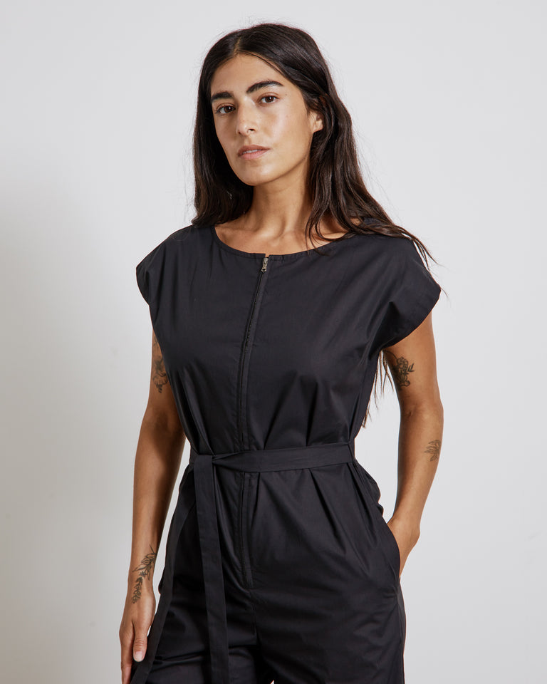 Habit Jumpsuit in Black