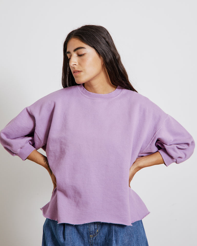 Fond Sweatshirt in Lavender