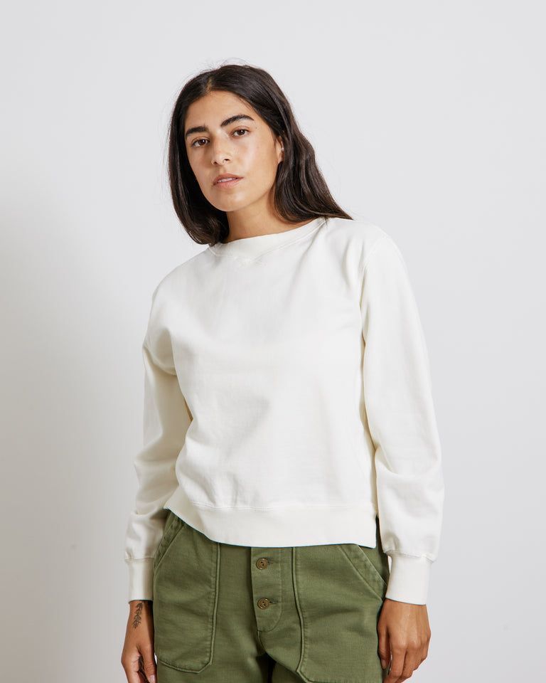 Lakeside Sweatshirt in Off White
