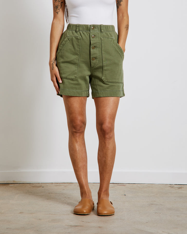 Lakeside Shorts in Army Green