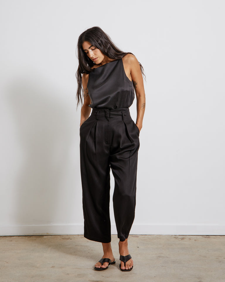 Cavolo Pants in Black