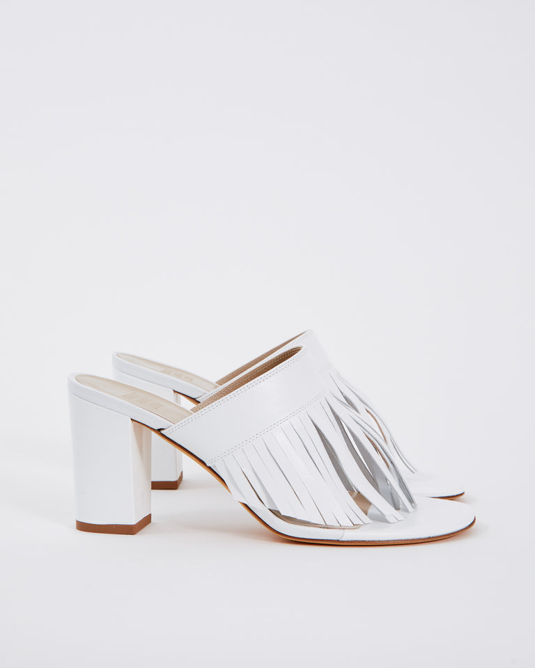 Valencia Sandal in White