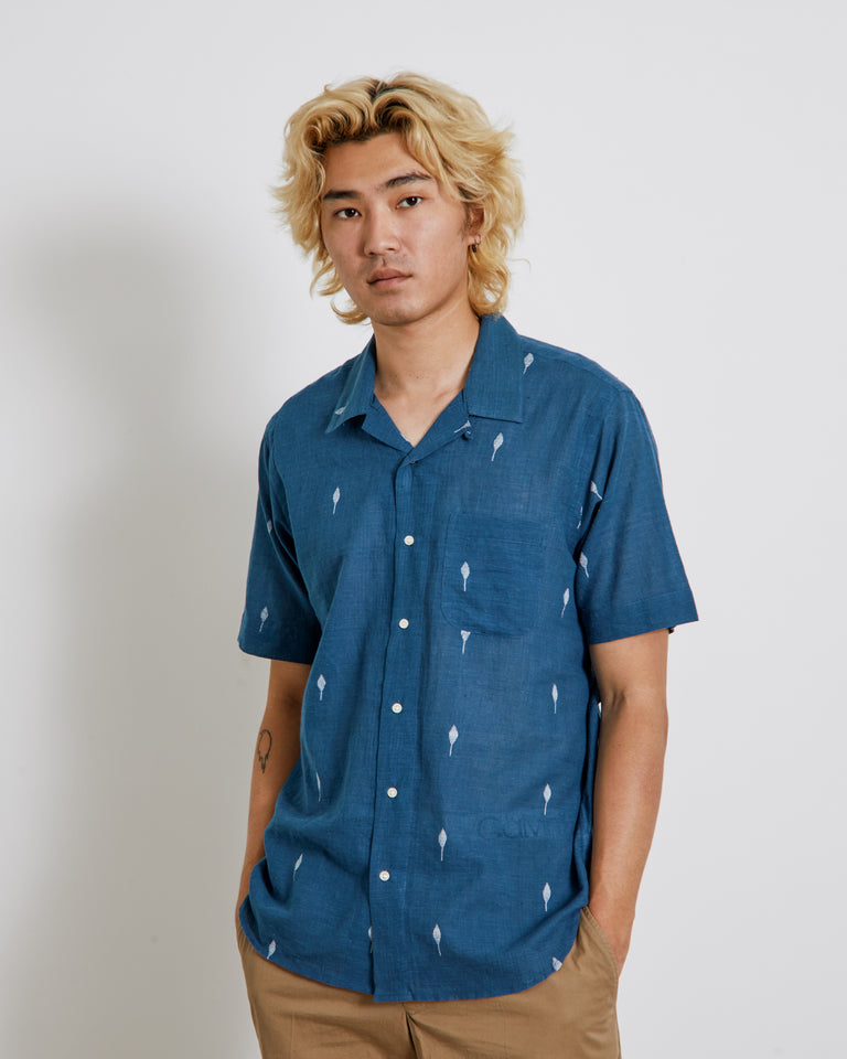 Lamar Shirt in Indigo
