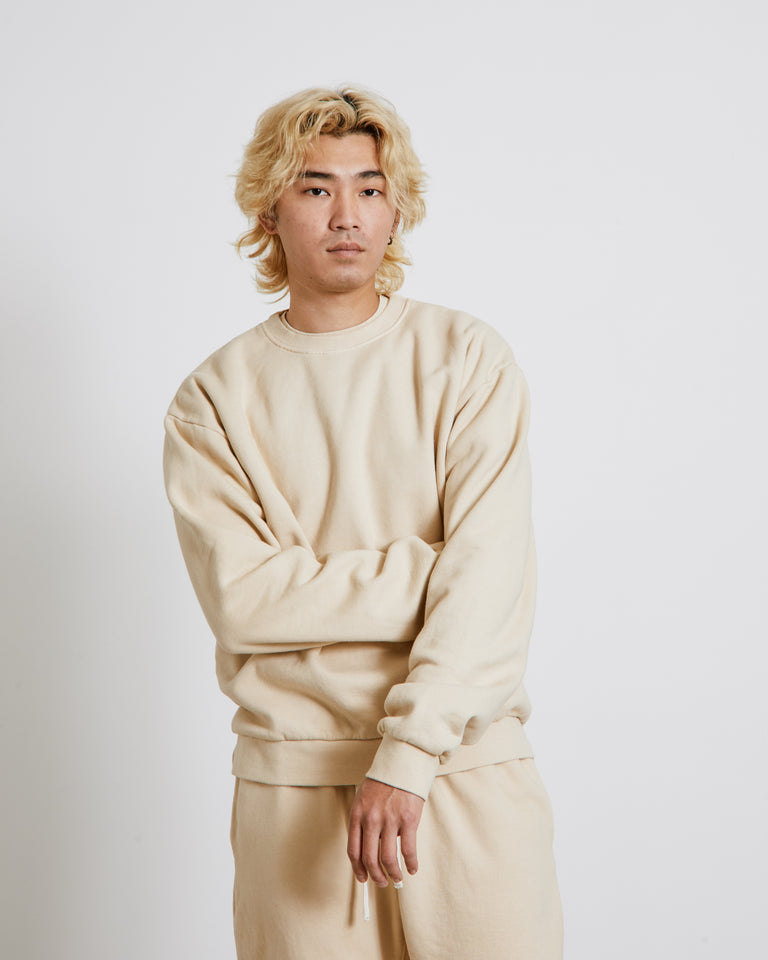 Albers Crewneck Sweatshirt in Dusty Lavender